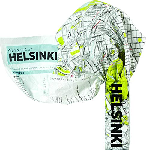 Helsinki Crumpled City Map (Crumpled City Maps)