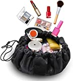 WSGQLT Neceser de Viaje Transparente, Bolsa de Maquillaje con asa y Bolsa Impermeable para Botellas,...