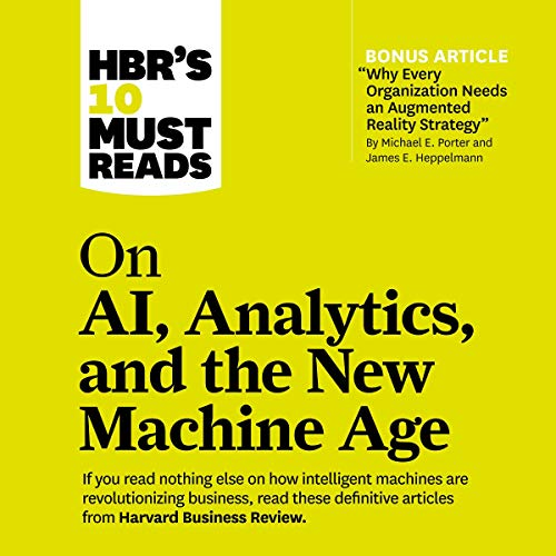 『HBR's 10 Must Reads on AI, Analytics, and the New Machine Age』のカバーアート