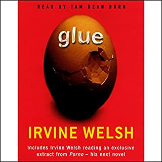 Glue audiobook cover art