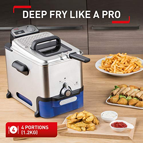 Tefal Oleoclean Pro Deep Fat Fryer, (5 Portions), 3.5 Litre, 2300 W