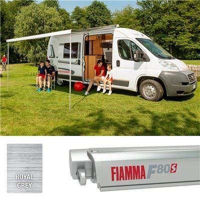 Fiamma F80S 450 07832G01R - Funda de Titanio para toldo, Color Gris