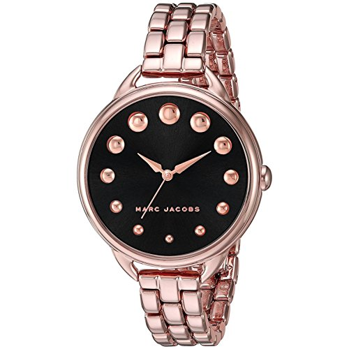 MARC JACOBS DAMEN-ARMBANDUHR 36MM ARMBAND KALBSLEDER BRAUN QUARZ ANALOG MJ3495