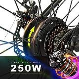 Zoom IMG-2 vivi bicicletta elettrica pieghevole 250w