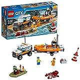LEGO- City Unita' di Risposta con Il FuoristradaCostruzioni Piccole Gioco Bambino, Multicolore, 20 x 20 x 50 cm, 60165