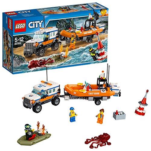 LEGO City - Guardacostas: Unidad de respuesta 4 x 4 (60165)