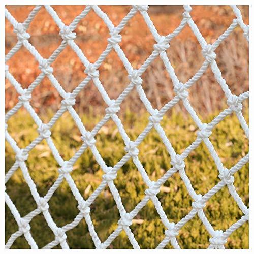 Sicherheitsnetz,Kinder Katzentreppe Balkonzaun Sicherheitsgitter Dekoration Ziel Frachtnetze,für Gartenpflanzen Dekoration Geländer Innentreppe Spielplatz Außen Nylon Ball Feld Ball Stop Cord Netting