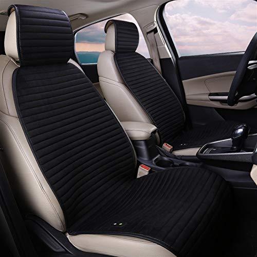 Autostoelhoes, modern, minimalistisch, modieus, voor auto, verwarming, winter, alleen voor de winter, voor auto, elektrisch, dubbel, 12 V blue