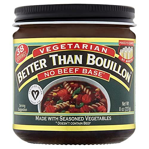 Better Than Bouillon Vegetarian, No Beef Base, 8 Ounce