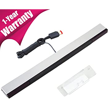 TPFOON Wired Infrared IR Ray Motion Sensor Bar Compatible with Nintendo Wii/Wii U Console