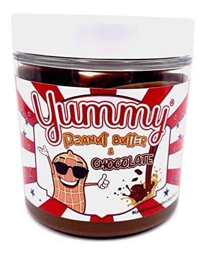Yummy Peanut Butter & Chocolate Spread Burro Di Arachidi E Cioccolata 200gr