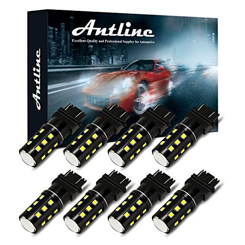 3157 3156 3057 3157A 4057 4157 LED Bulb White, Antline Super Bright 1200 Lumens 24-SMD LED...