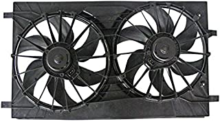 New Radiator Dual Fan Assembly For 2007-2017 Jeep Patriot Compass Sport Latitude, Replaces Chrysler 68004051AA 68031871AA 68031872AA 68031873AA