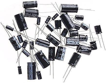 E-Projects B-0002-L15 Lot de 5 condensateurs /électrolytiques radiaux 47 uF 16 V 105 C