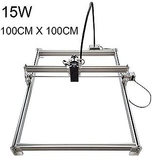 100 x 100CM 15W Laser Engraving Machine Metal Iron Stell Stone Ceramic DIY Printer