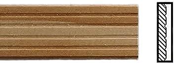 Melody Jane Dolls House Skirting Board 18 x 1//2 Baseboard 457 x 12mm Bare Wood