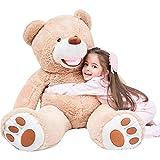 IKASA Giant Teddy Bear Plush Toy Stuffed Animals (Brown, 39 inches)