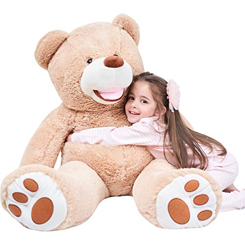 IKASA Giant Teddy Bear Plush Toy Stuffed Animals (Brown, 39 inches)