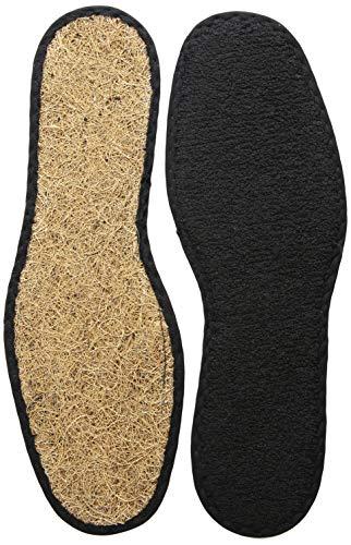 Bergal Coco Air Einlegesohlen, hält Ihre Füße frisch und kühl, Unisex, (braun), 39 EU