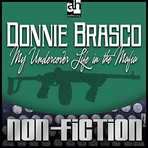Donnie Brasco audiobook cover art