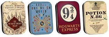 Mini Tins Set Of 4 - Harry Potter (Map)