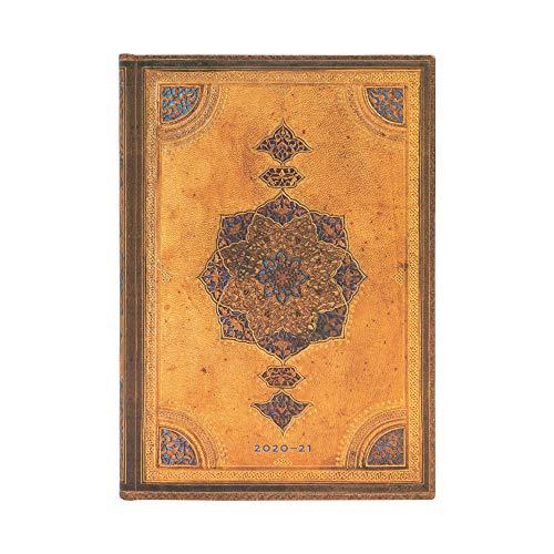 Paperblanks Agendas 18 Meses 2020-2021 Safavid, Apaisado, Midi (130 × 180 mm) DS6557-9