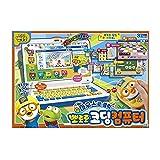PORORO ポロロ コーディングコンピュータプレイセット、韓国語と英語モード (日本語 X)、子供向け教育玩具、男の子向け最高のギフト、女の子の幼児、韓国玩具, 韓国より配送
