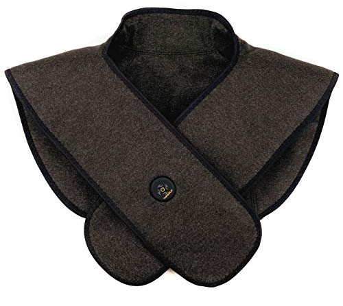 Thermrup Ferninfrarot Mobiles Wärmekissen für Nacken und Schulter mit 3 Temperaturstufen, Akkubetrieb (L)