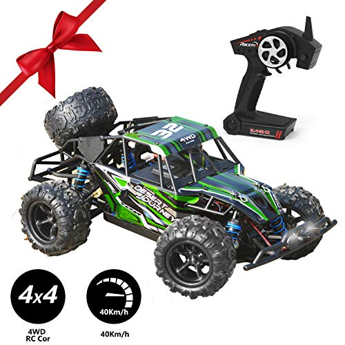 VOLANTEXRC Remote Control Truck Desert Journey 1:18 Scale 4WD Off-Road RC Car 30mph High Speed All Terrain RC Vechicle RTR for Kids or Adults, Boys or Girls (785-3)