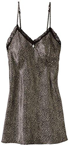 Esmara® Damen Satin-Nachthemd (Leo, Gr. 40)