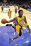 Kobe Bryant 12 x 18 inch Los Angeles Lakers Poster Print Photo Print frameless art gift 30.5 x 46 cm