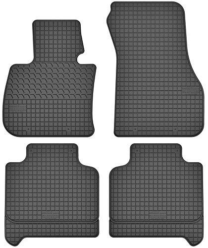 Motohobby Gummimatten Gummi Fußmatten Satz für BMW X1 F48 (ab 15) / X2 F39 (ab 18) / 2 F45 Active Tourer (ab 14) / 2 F46 Gran Tourer (ab 15) / Mini Countryman II F60 (ab 17) / Clubman II F54 (ab 15)