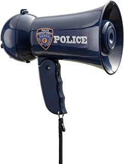 Police Officer Child Megaphone