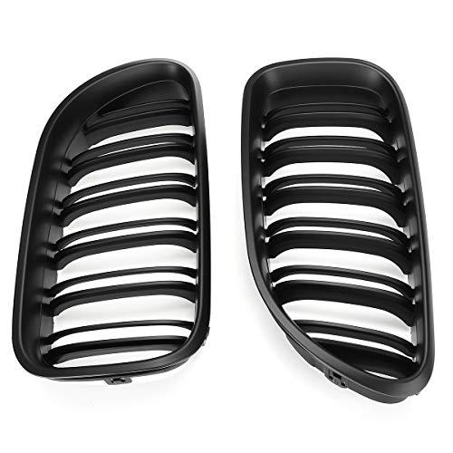 ZST-DM Grill Ridney, para BMW M6 F06 F12 F13 640i 650i 2012 2013 2013 2014 2015 2015 2017 2017 Accesorios para automóviles 2pcs Car Matt Black Black Grille