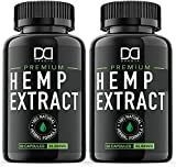Premium Hemp Oil Capsules - Made with natural hemp oil extract (500mg per serving) and loaded with healthy fatty acids Omega 3, 6, 9. All of our ingredients are naturally sourced and designed to work with your body and not against it. A truly premium...