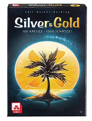 NSV - 4088 - SILVER & GOLD - Kartenspiel