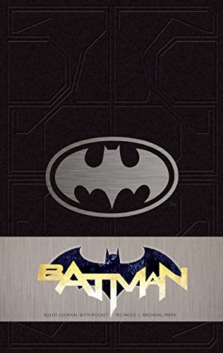 Batman Hardcover Ruled Journal by Matthew K. Manning (October 07,2014)