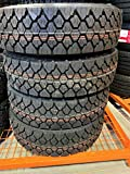 Set of 4 (FOUR) Cosmo CT706 Plus Commercial All-Season Radial Tires-245/70R19.5 135/133M LRH 16-Ply