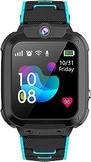 Winnes GPS Reloj Smartwatch para Niños, Impermeable GPS Rastreador Reloj Anti-Perdida de Teléfonos SOS, - Regalo para para...