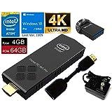 Intel Z8350 /4GB / 64GB / 4K対応 / Windows 10 Pro (最新1909) Stick Compute 【Model W5-Pro】,バックアップ用USBメモリー32GB付