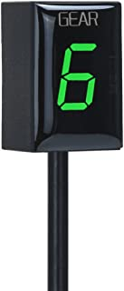 IDEA Waterproof Motorcycle Gear Indicator LED Display for Yamaha (Green)