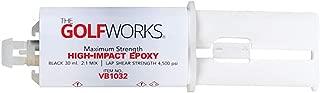 GolfWorks Maximum Strength High Impact Epoxy Cartridge with Plunger - 30ml