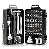 Mini Precision Screwdriver Set Magnetic,Expertools 115 in 1 Electronic Repair Tool Kit for iphone,Computer,Laptop,Tablet,Android,Phone,Xbox,PS3/4,Nintendo Switch,Camera,Eyeglasses,Watch,and More