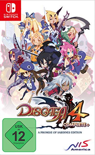 Disgaea 4 Complete+ A Promise of Sardines Edition (Switch)