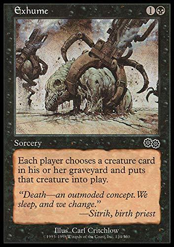 Magic The Gathering - Exhume - Urza's Saga