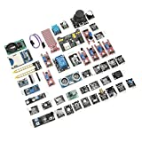 Conjunto de módulos de sensor, módulos de sensor, 45 piezas duraderas/conjunto de placa de componentes electrónicos para Raspberry Pi