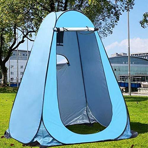 Tent Instantanée Pop Up Pod Changement de confidentialité Salle d'eau Portable Anti UV Camp Toilettes Abri de Pluie for l'extérieur Camping Plage (Color : Black)