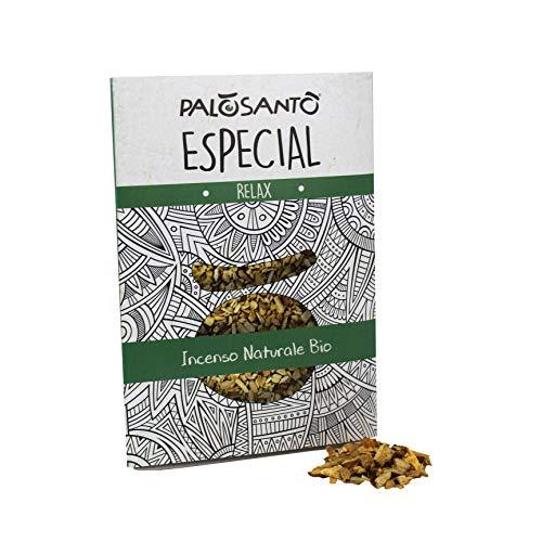 Palo Santo en Granos - Variedad Especial 80 Gr - Incienso Natural Chamánico Original para Quemar - Perfume Muy Fuerte y Envolvente, Rico en Limonene