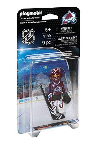 PLAYMOBIL 9189 - NHL Colorado Avalanche Goalie