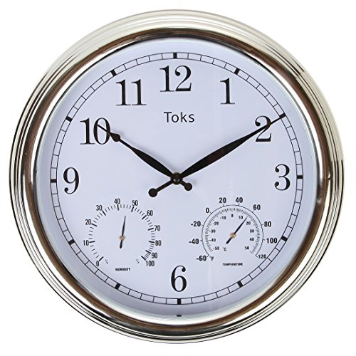 Relojes De Pared Con Termometro E Higrometro  marca Lily's Home